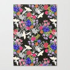 Tonde Iru Tori Canvas Print