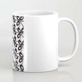 Quirky Black & White Coffee Mug