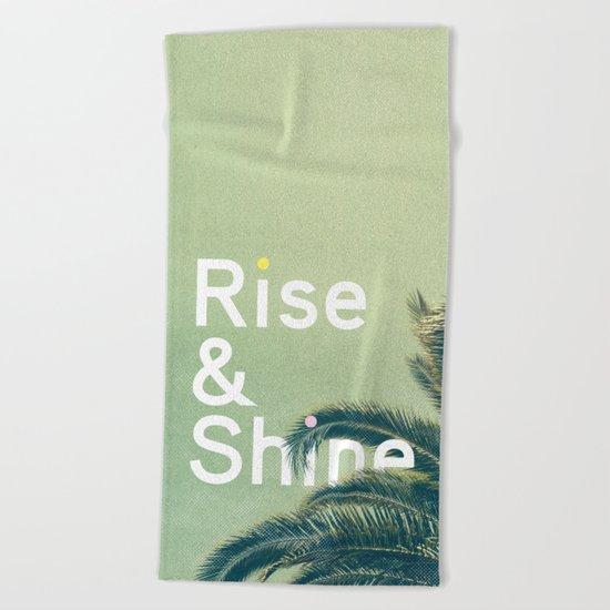 Rise & Shine Beach Towel
