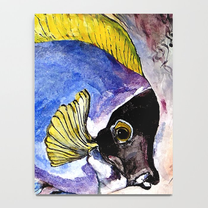 fish with yellow fin Notebook