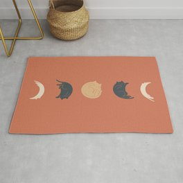 Cat Landscape 61: Meow Phases 2 Rug