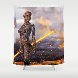 Ignis Shower Curtain