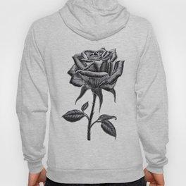 Silver Rose Hoody