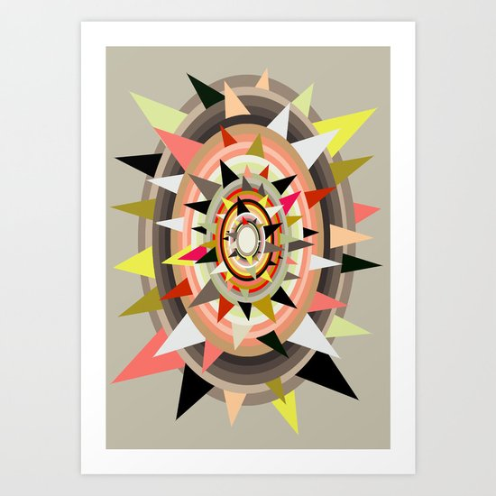 Sharp Bulls-eye  Art Print