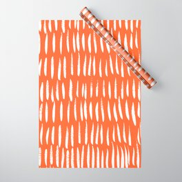 Brush Stroke Staccato Wrapping Paper