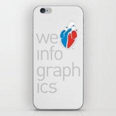 We Love Infographics iPhone & iPod Skin