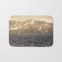 Mountain Lake - Nature Photography Bath Mat