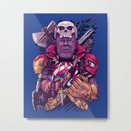 Wild Thanos Metal Print