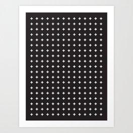 SWISS CROSSES Art Print