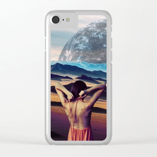 Life on the other Side Clear iPhone Case