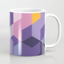Violet Pattern Coffee Mug