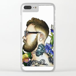 Tattoos and Irises Clear iPhone Case