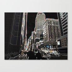Urbanization Canvas Print