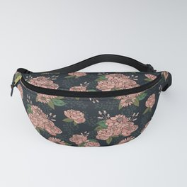 Moody Florals - Coral Fanny Pack