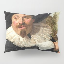 "Frans Hals ""Portrait of Isaac Abrahamsz"" Pillow Sham"