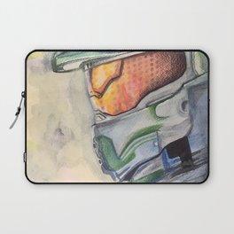 Halo gaming watercolor design Laptop Sleeve