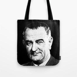 President Lyndon Johnson Graphic Tote Bag