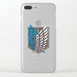 SURVEY CORPS Clear iPhone Case