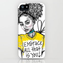 #STUKGIRL ALIANA iPhone Case