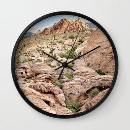 Red Rock Canyon, Nevada Wall Clock