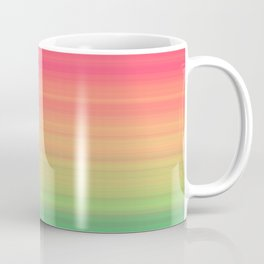 Tropical stripes Summer pattern Coffee Mug