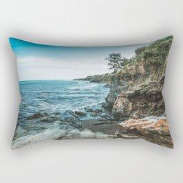 Ocean's Edge Newport Rhode Island Rectangular Pillow