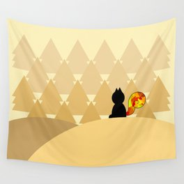 The Squirrel Forest Wall Tapestry