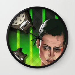 In space no one can hear you scream Wall Clock