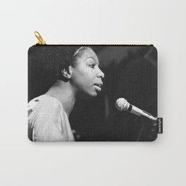 Nina Simone Art Print - Black Culture - Black History Carry-All Pouch