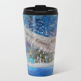 Albino Crocodile Travel Mug