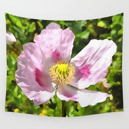 Papaver Somniferum Opium Poppy Wall Tapestry