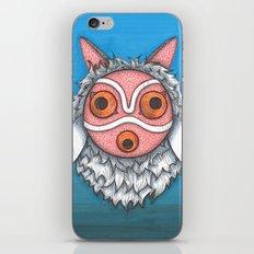 Princess Mononoke Mask iPhone & iPod Skin