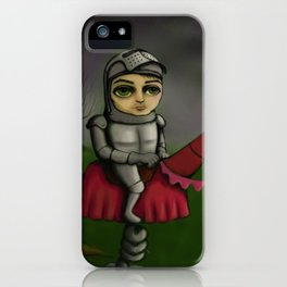Spring Knight iPhone Case