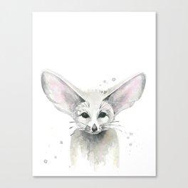 Fox.  Fennec Fox. Canvas Print