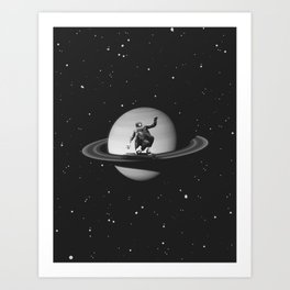 Planetary Ride Art Print