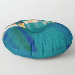 Olympic Diving Floor Pillow