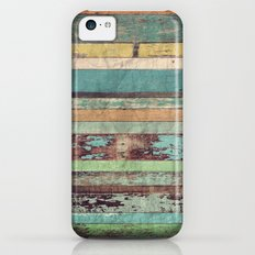 Wooden Vintage  iPhone 5c Slim Case