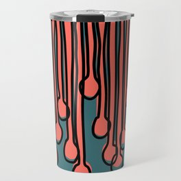 Running to you Living Coral Travel Mug