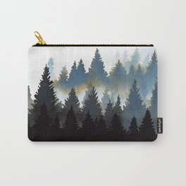Fog Forest Carry-All Pouch