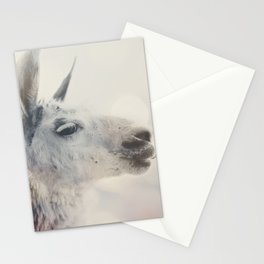 Alpaca in Machu Picchu Stationery Cards