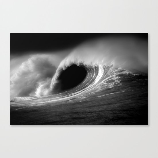 More Fun With Big Waves Canvas Print