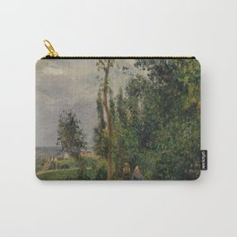 Camille Pissarro - Côte des Grouettes, near Pontoise (1878) Carry-All Pouch