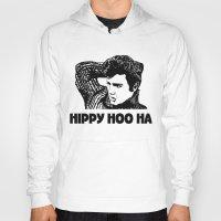elvis presley Hoodies featuring Elvis Presley by Hippy Hoo Ha