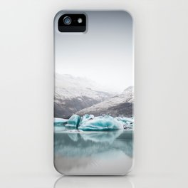 Glacier Lagoon, Iceland iPhone Case