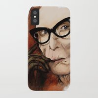 coven iPhone & iPod Cases featuring Myrtle Snow || Don't be a hater, dear (from American Horror Story: Coven) by PandaToyz