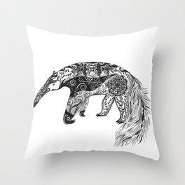 Anteater Throw Pillow