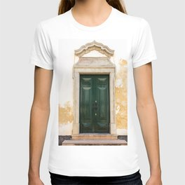 Old door in Tavira, Portugal T-shirt