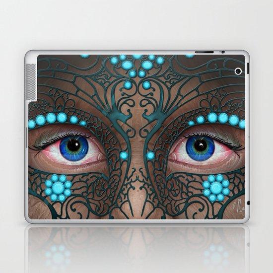 Halloween Mask - Painting Laptop & iPad Skin