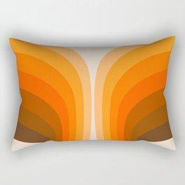 Golden Wing Rectangular Pillow