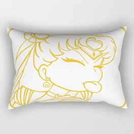moon girl Rectangular Pillow
